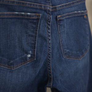 Madewell Jeans - Madewell Slim Straight High Rise Denim